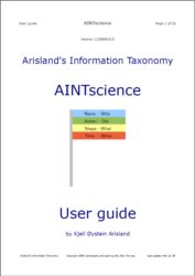 AINTscience user guide front page